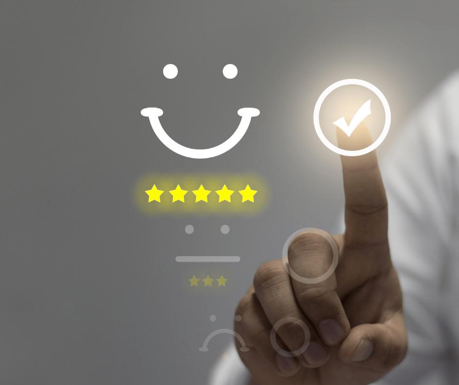 service client 100% satisfaction
